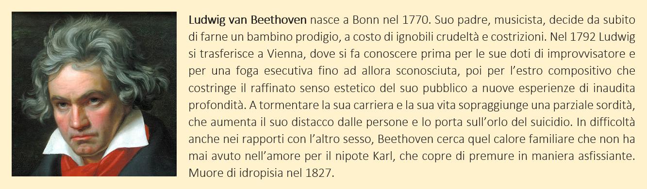 Breve biografia di Ludwig van Beethoven