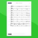 arrangiamento per orchestra scolastica di white christmas