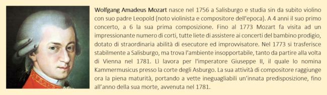 biografia di mozart
