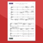 Arrangiamento per pianoforte a 6 mani sulla Marcia Turca di Mozart