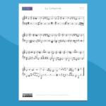 La Cumparsita - Spartito per pianoforte