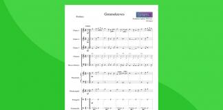 arrangiamento per orchestra scolastica di greensleeves