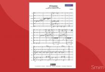 Spartito gratis in PDF di unison drum signal