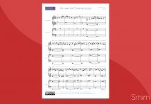 arrangiamento per pianoforte a 4 mani di 'all i want for christmas is you'