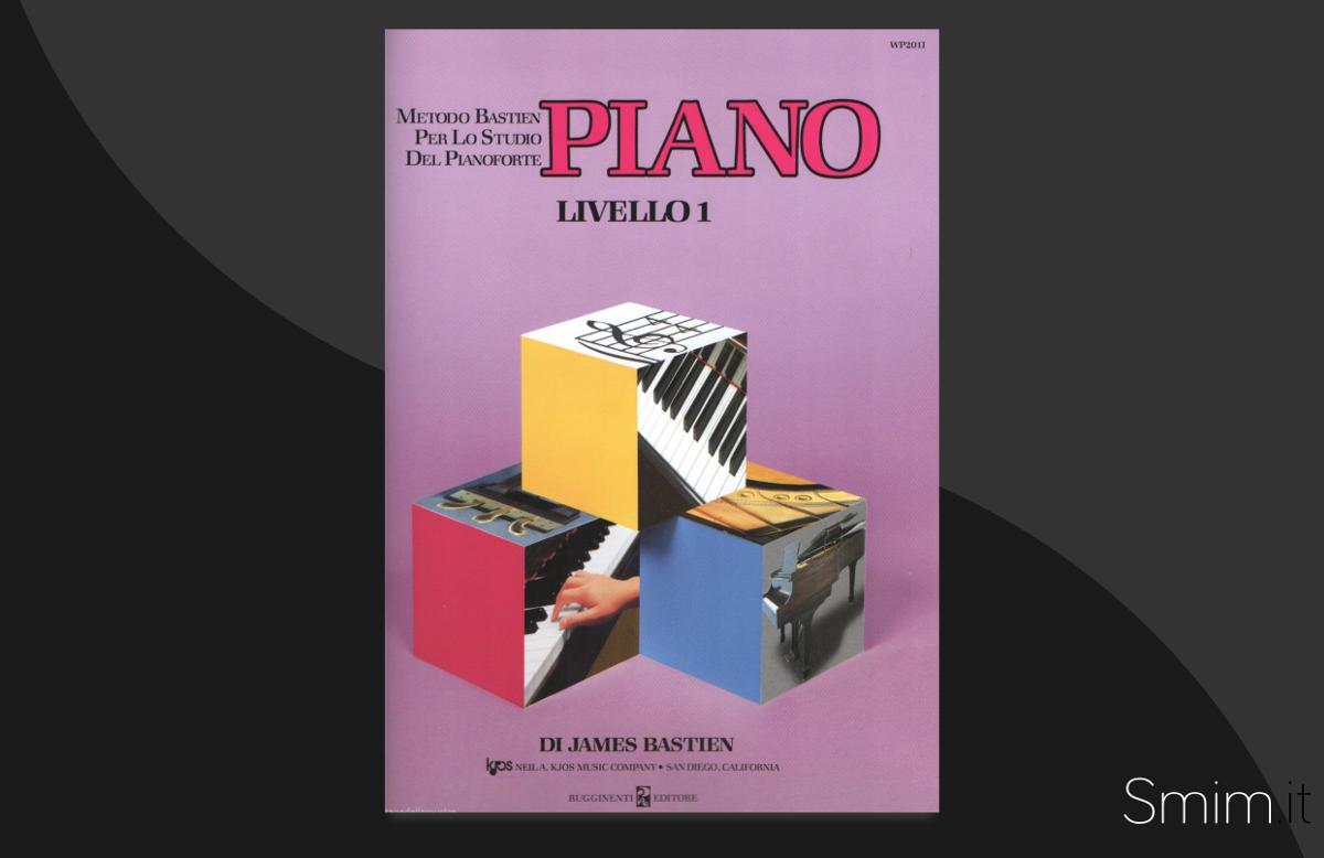 metodo per pianoforte di james bastien