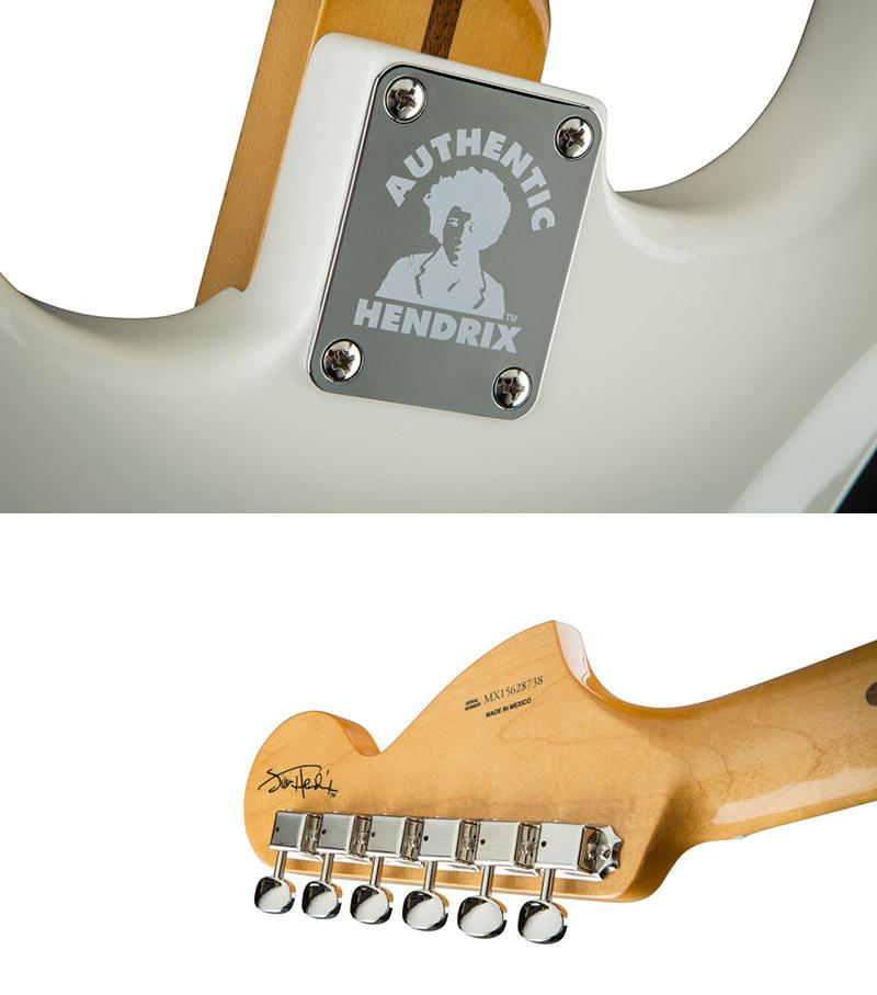 Firma e serigrafia Jimi Hendrix Stratocaster