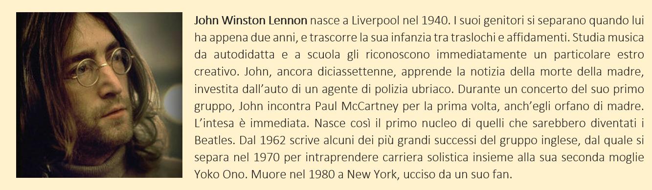 breve biografia di John Lennon