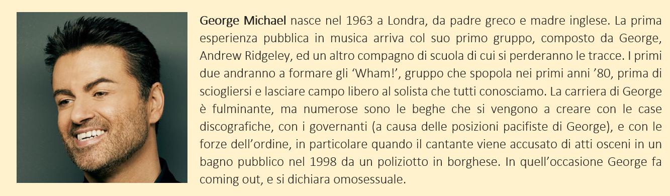 breve biografia di george michael