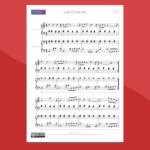 arrangiamento per pianoforte a 4 mani di last christmas (george michael)