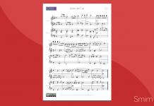 Astro del Ciel: spartito per pianoforte a 4 mani
