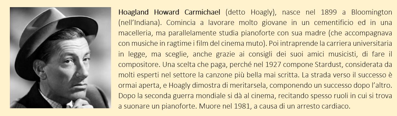 breve biografia di Hoagy Carmichael