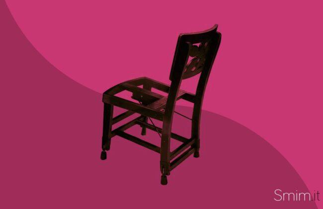 la sedia di glenn gould