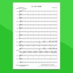piovani - la vita è bella - spartito per orchestra scolastica