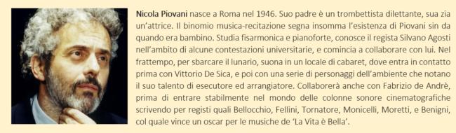 breve biografia di Nicola Piovani