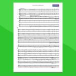 Pirati dei Caraibi - Partitura gratis per orchestra scolastica