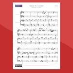 Prokofiev - Danza dei Cavalieri, spartito per pianoforte a 4 mani