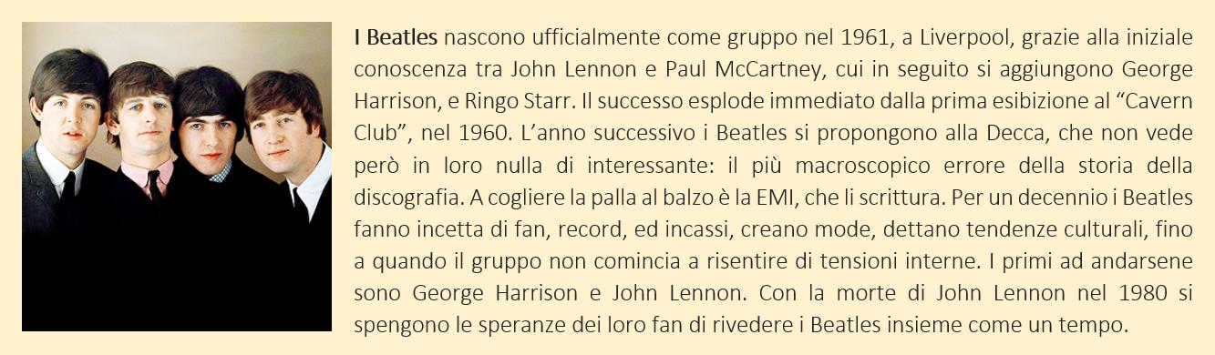 Beatles - biografia breve