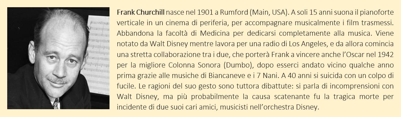 Frank Churchill - biografia breve