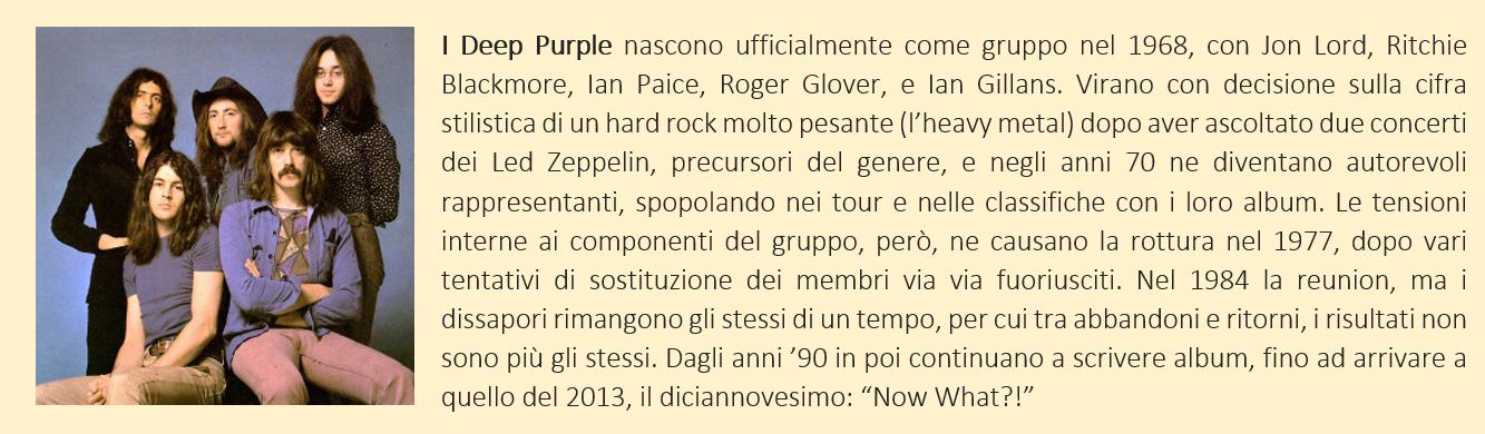 deep purple - biografia breve
