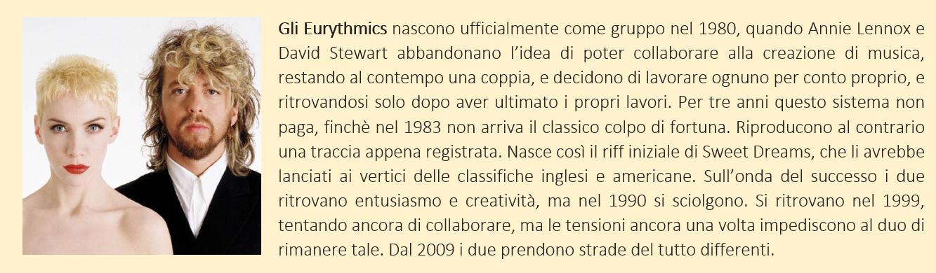 Eurythmics - biografia breve
