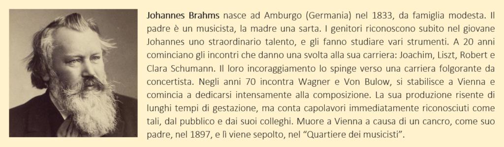 Brahms, Johannes - biografia breve