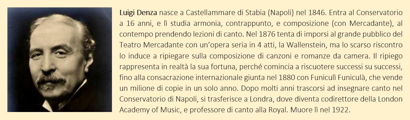 Denza Luigi - biografia breve