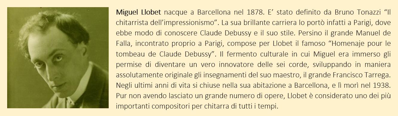 Llobet Miguel - biografia breve