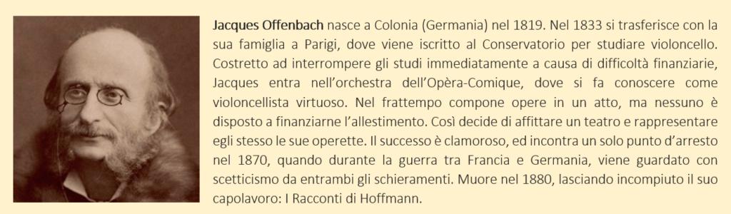 Offenbach, Jacques - Biografia Breve