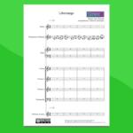 Libertango di Astor Piazzolla - Partitura gratis per orchestra scolastica