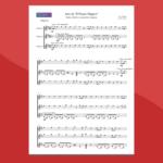 Variazioni su un tema di Mozart (Fernando Sor) - Spartito Gratis per trio di chitarre