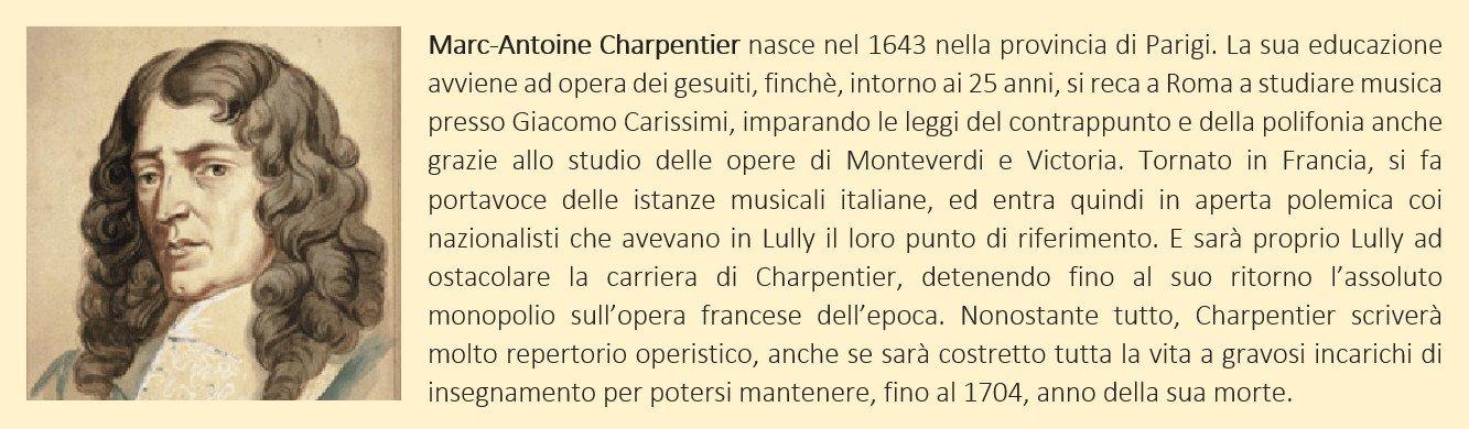 Charpentier, Marc-Antoine - biografia breve