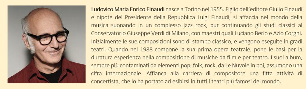 Einaudi, Ludovico - biografia breve