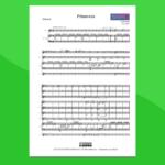 Ludovico Einaudi - Partitura Gratis per Orchestra Scolastica