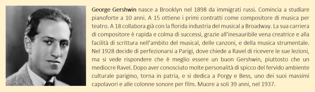 Gershwin, George - biografia breve
