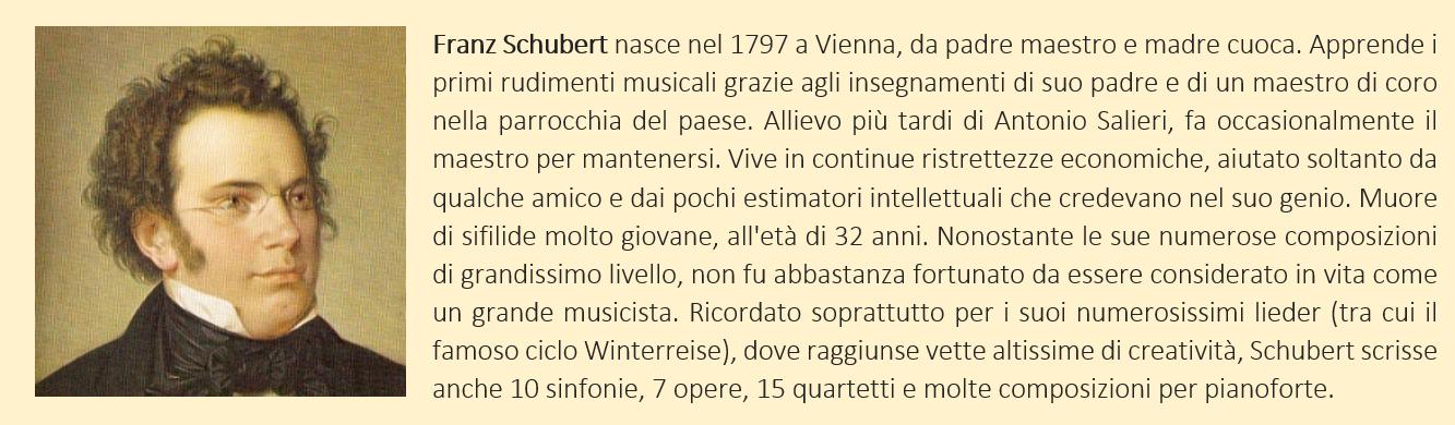 Schubert Franz - biografia breve