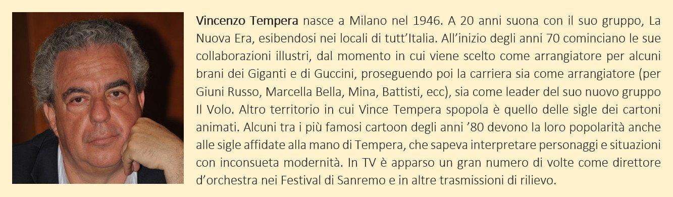 Tempera, Vince - biografia breve