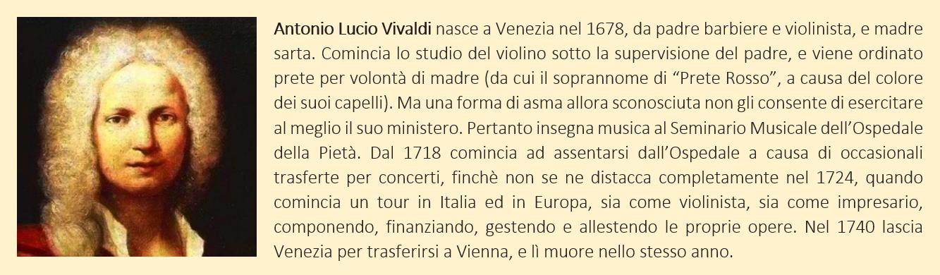 Vivaldi, Antonio - biografia breve