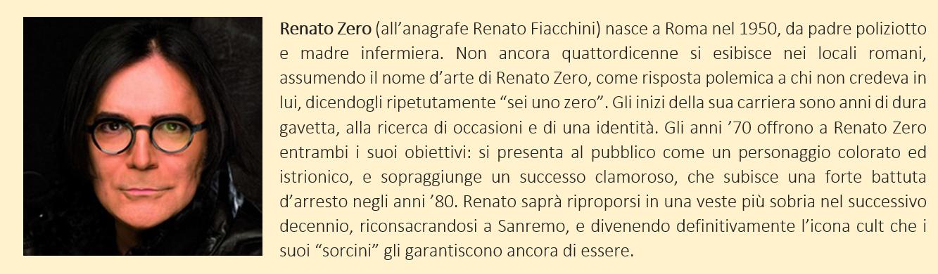 Renato Zero - biografia breve