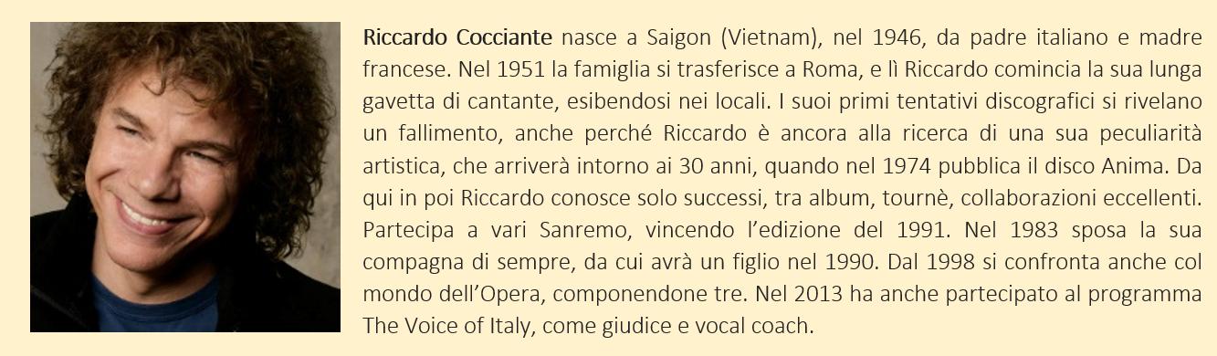 Cocciante, Riccardo - biografia breve