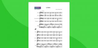 Le Faune - partitura gratis per orchestra scolastica