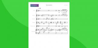 Sensation (Coletti) - partitura gratis per coro e orchestra