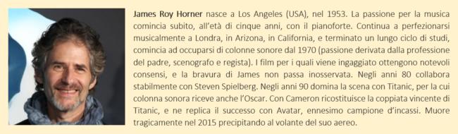 Horner James - biografia breve