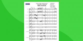 Nella Vecchia Fattoria - Partitura Gratis per Orchestra Scolastica