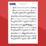 in the same womb (ottomano) - spartito gratis per vibrafono e pianoforte