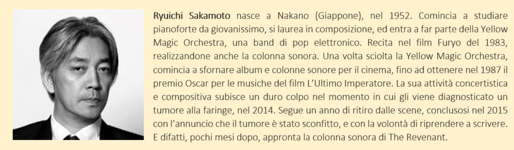Sakamoto - biografia breve