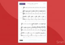 Il Tempo delle Cattedrali - Spartito Gratis per Violino e Pianoforte a 4 mani