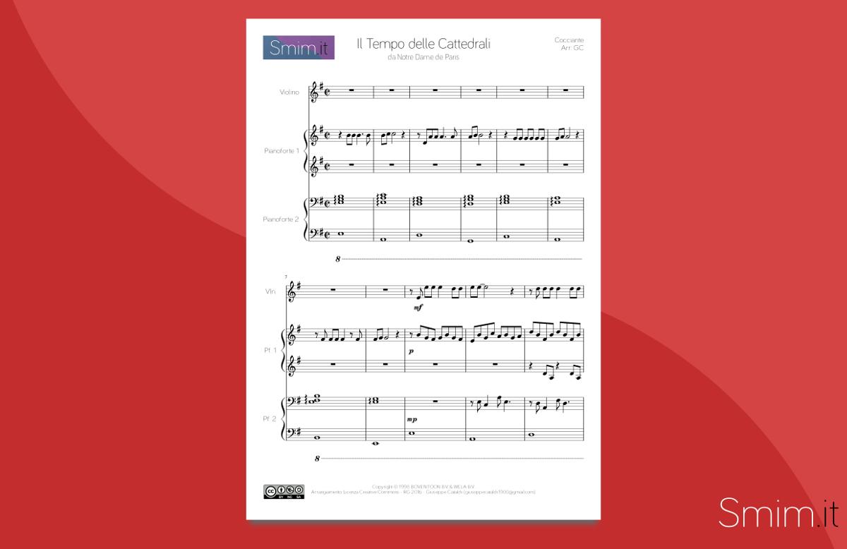 Super Spartiti Gratis per Violino • Smim.it JI62