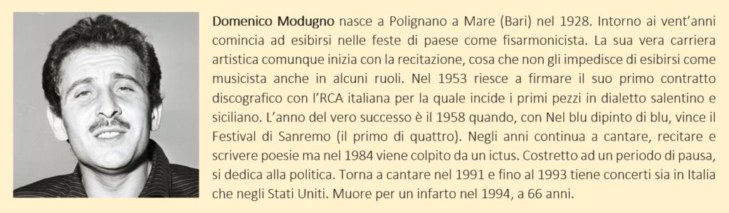 Modugno, Domenico - biografia breve