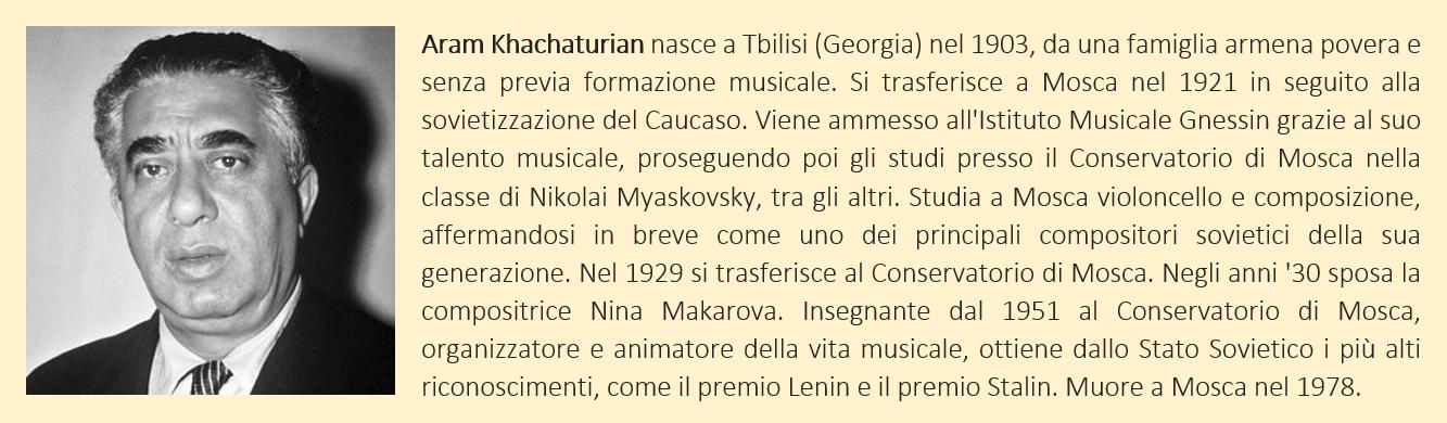 Khachaturian, Aram - Biografia Breve
