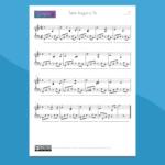 Tanti Auguri a Te - Spartito per Pianoforte